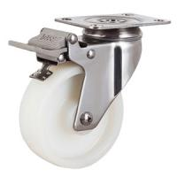 Quality Stainless steel castors with brake for sale