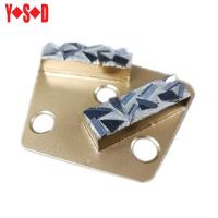 Quality Trapezoid Diamond Grinding shoes for concrete floor for sale