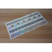 Quality Stock wholesales metallic tattoo designs M-T016 for sale