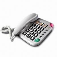Quality Corded Phone with Big Keys and 3-one Touch Memory for sale
