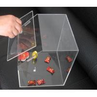 Quality Transparent 3mm Acrylic Display Case , Candy Plexiglass Cases Custom for sale