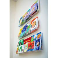 China China Factory hot design acrylic book display stands / acrylic L shaped stand for Book on sale
