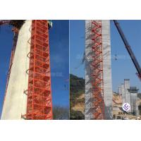 Buy Safe Construction Stair Tower Any Color For Highways Railways Bridges at wholesale prices