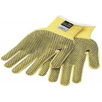 Quality Yellow Black Kevlar Felt Cut Resistant Gloves 8mm 10mm Thickness for sale