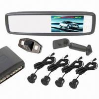 China 4.3-inch Built-in Car GPS Navigation, Rear-view Mirror, Video Parking Sensor System on sale