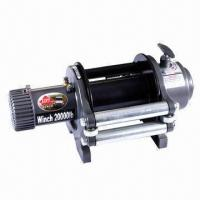 Quality 20000lbs heavy-duty electric truck winch for sale