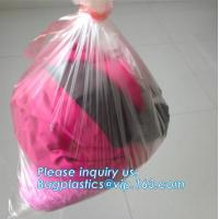 Quality pva plastic bag with water soluble bags water soluble plastic bag, custom made embossed dissolvable pva bag 35 40 micron for sale