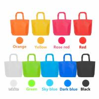 Quality Non-Woven Party Bags Gift Bags Treat Bag Rainbow Colors  Tote Bags Bag with Handles reusable grocery shopping bags for sale
