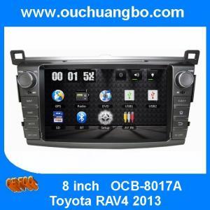 China Ouchuangbo Wholesale Car GPS Sat Nav USB iPod DVD Audio Player Toyota RAV4 2013 OCB-8017A on sale