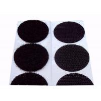 Quality 25mm Colored  Dots  Backed Patches 80% Nylon 20% Polyester Material for sale