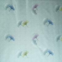 Quality Gray Color Printing 220cm Brushed Polyester Spandex Fabric 70D for sale