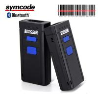 Mini Pocket Bluetooth Barcode Scanner / Laser Barcode Reader For Coffee Shops