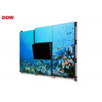 Buy cheap 16:9 Aspect Ratio Seamless Monitor Wall / Large Display Wall 2 X HDMI Input from wholesalers