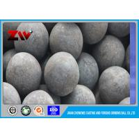 Quality Moly Corp grinding balls for ball mill media , Cast forged steel grinding balls for sale