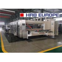 Quality High Speed Pull Roll Type Printer Slotter Die Cutter Machine 1mm Precision for sale