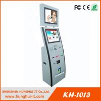 19 inch dual screens touch screen cash acceptor coin acceptor bill