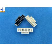 Quality Dual Row PA66 Lvds Display Connector Housing With Lock Pitch 2.00mm for sale