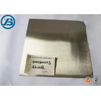 Buy Mg AZ91 Thick Magnesium Alloy Sheet , AZ31B Magnesium Alloy Metal Board thick at wholesale prices