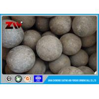 Quality Large Hot rolling SAG mill grinding balls for Cement Plant , DIA 150 mm for sale