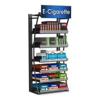 Quality Contemporary Free Standing Cigarette Display Cabinet Store Display Fixtures For Retail for sale