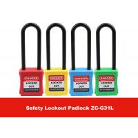 Quality Safety LOTO Devices 76mm Long Nylon Shackle Xeony Lockout Padlock for sale