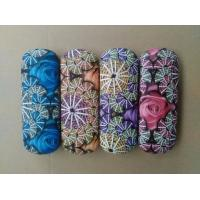 Quality Hot selling printed glasses cases-flower design printed for sale