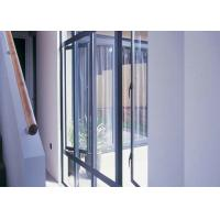 Quality Construction Materials Aluminum Casement Windows Single Glazed Glass Powder Coated Finished for sale