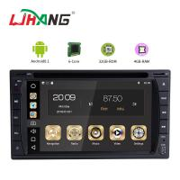 Quality Multipoint Screen Double Din Dvd Player , PX6  8core Android Car Dvd Player Gps Navigation for sale