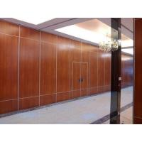 Quality Office Sound Proof Partition Wall , Melamine Surface Sliding Folding Acoustic Room Dividers for sale