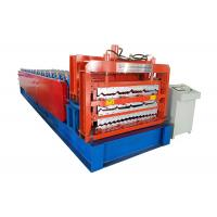 Quality Triple Layer Steel Roofing Sheet Roll Forming Machine 8-12m/Min Working Speed for sale