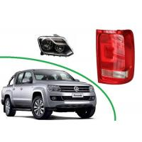 Quality Volkswagen Amarok 2011 2012 - 2015 2016 Automobile Spare Parts Head lamp Assy and Tail Lamp Assy for sale