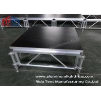 foldable aluminium stage platform outdoor assembly stage solid