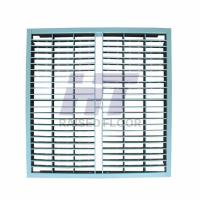 Steel Grating Perforated Raised Floor Large Air Flow Rate with Powder Epoxy