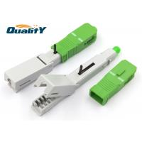 Quality Durable Fiber Optic Fast Connector / FTTH Quick Connector OEM Service for sale