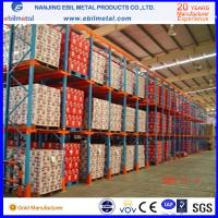 Quality Widely Used Metallic Drive in Pallet Racking High Quality / Pulling Through Rack for sale