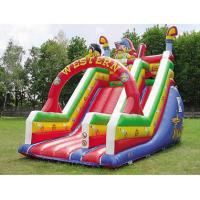 Quality inflatable bouncer castle slide for sale