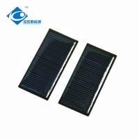 Quality 5.5V Mono Epoxy Solar Panel Photovoltaic For Mobile Power Pack 0.3W for sale