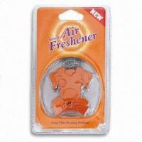 Buy Vent/Hanging Air Freshener in Dog Design, Inside Flavor, Various Fragrances and Colors are Available at wholesale prices