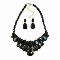 Quality Imitation Jewelry Set, Comes in Black for sale