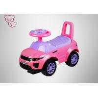 Quality Plastic PP Toddler Ride On Toy Car Lightweight / Small CE Certificate for sale