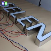 Buy Face Lit Signage Led Channel Letters Outdoor Advertising Display Various Sizes at wholesale prices