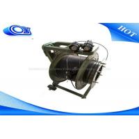 Quality Outdoor Tactical Fiber Optic Cable Reel Drum with 200m Extension for sale