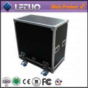 Quality Aluminum flight case road case transport crate case car audio speakers flight case for sale
