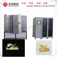 China Magnetron Sputtering PVD Vacuum Coating Machine For Luxury Handbags Metal Accessories on sale