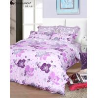 Quality Twill Cotton Floral Bedding Sets Reactive Printed Workmanship Customized for sale