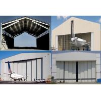Quality Single Span Steel Structure Aircraft Hangar Buildings With Wall / Roof Panel for sale