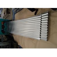Galvanized Corrugated Roofing Sheets , Corrugated Steel Roof Panel For Wall