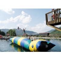 Quality Floating Inflatable Water Trampolines , Lake Inflatable Water Blob for sale