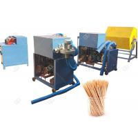 Quality Wooden Toothpick Making Machine Single Sharp And Double Sharp Thhthpick for sale