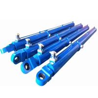 Quality Heavy Duty Telescopic Hydraulic Cylinder Loading For Construction Machinery for sale
